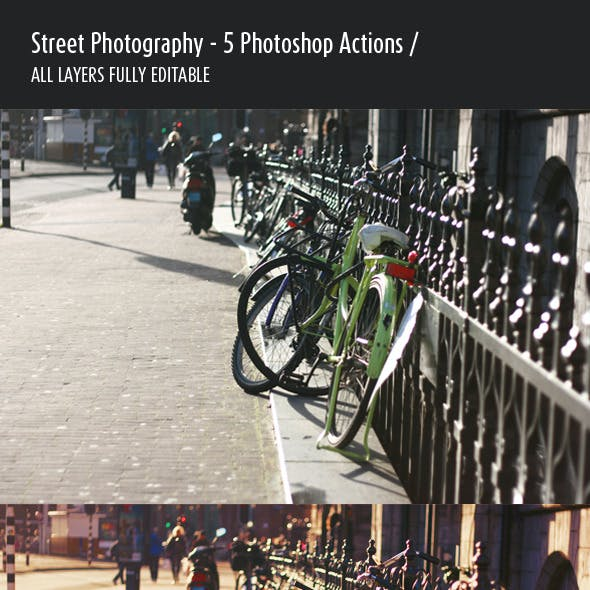 5 Photoshop Actions