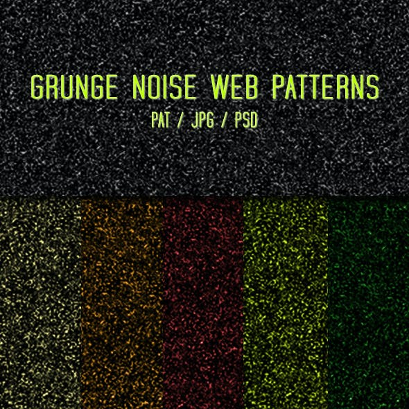 Grunge Noise Patterns