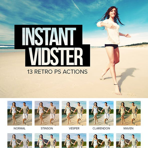 Instant Vidster - 13 Retro Effects
