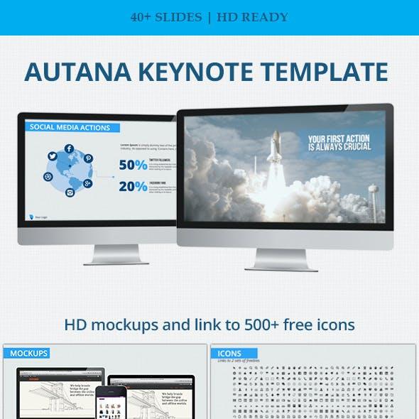 Autana Keynote Business Template