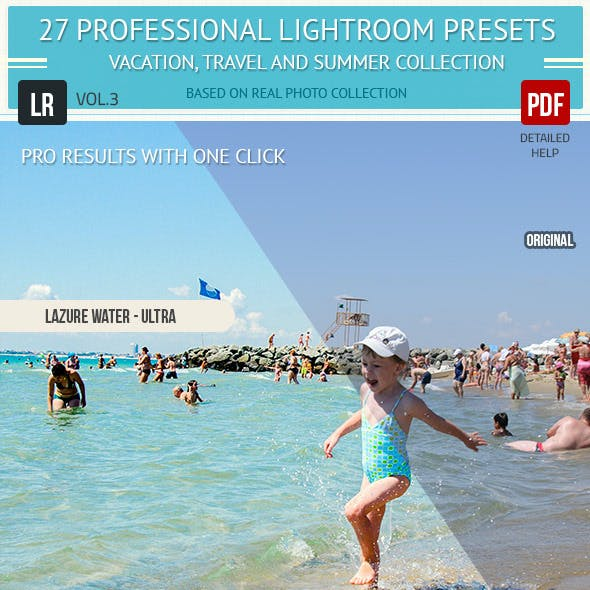 27 Professional Lightroom Presets