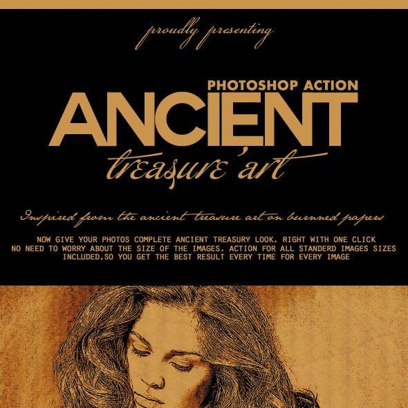 Ancient Treasure Art PS Action