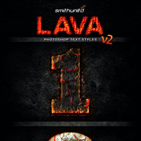 Lava Text Styles v2