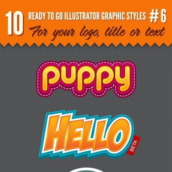 10 Logo Graphic Styles #6