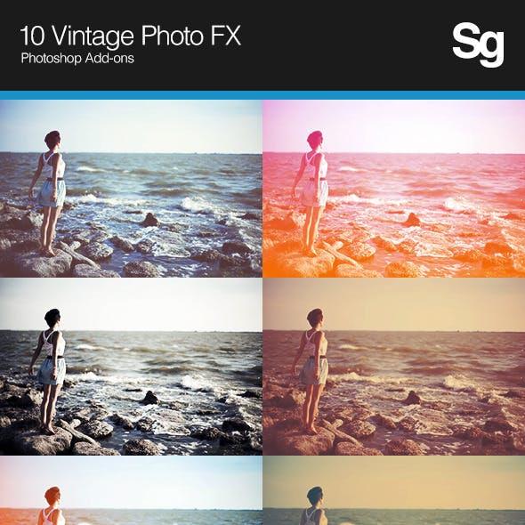 10 Vintage Photo FX