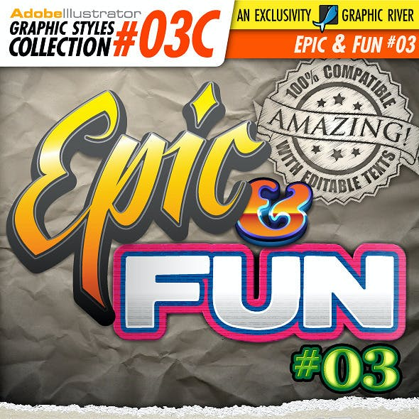AI Styles Collection #03C: Epic & Fun #03