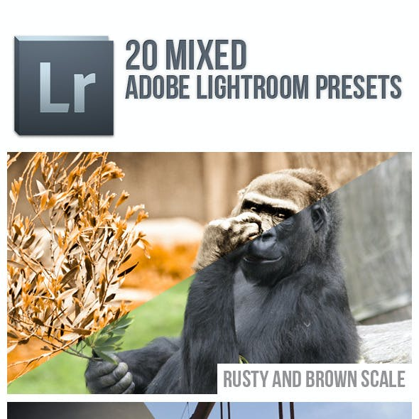 20 Mixed Lightroom Presets