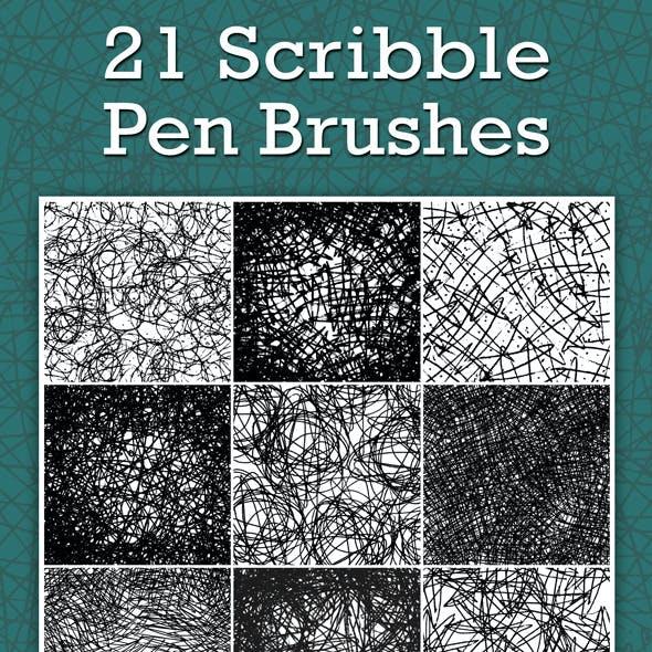 Scribble Pen Brushes
