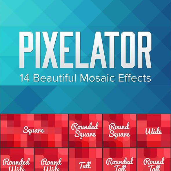 Pixelator - 100+ Pixelating Effects by sparklestock