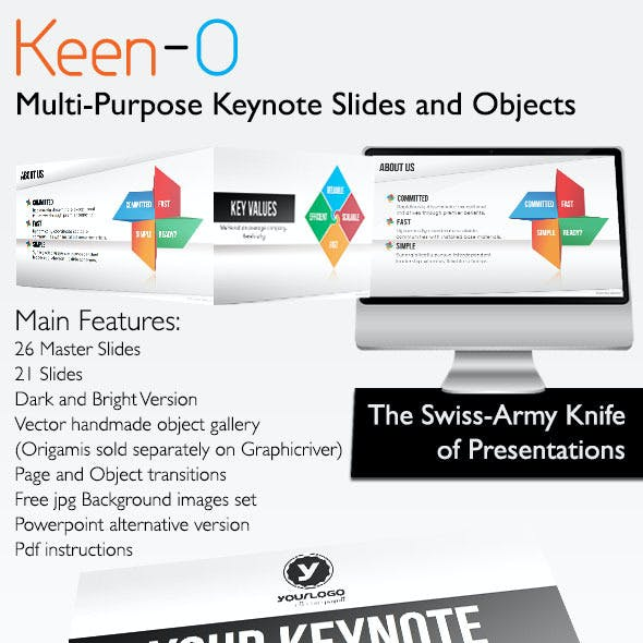 Keen-O - Multi-Purpose Template and Objects