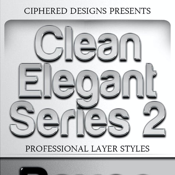 Clean Elegant Series 2 - Professional Layer Styles