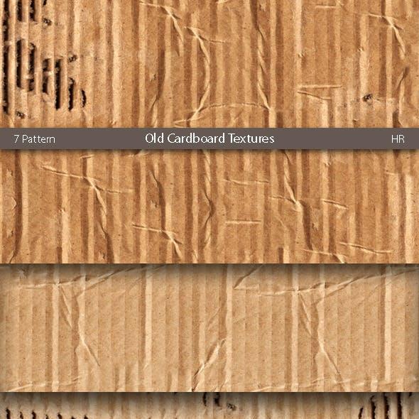 Old Cardboard Patterns