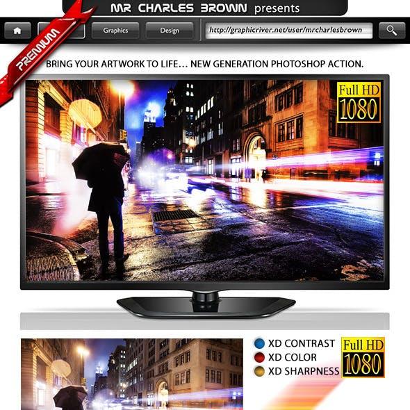 Breathtaking Action – HDR SingleXD Engine