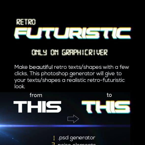 Retro Futuristic Generator