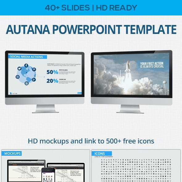 Autana Powerpoint Template
