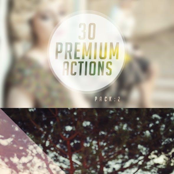 30 Premium Photoshop Actions 2
