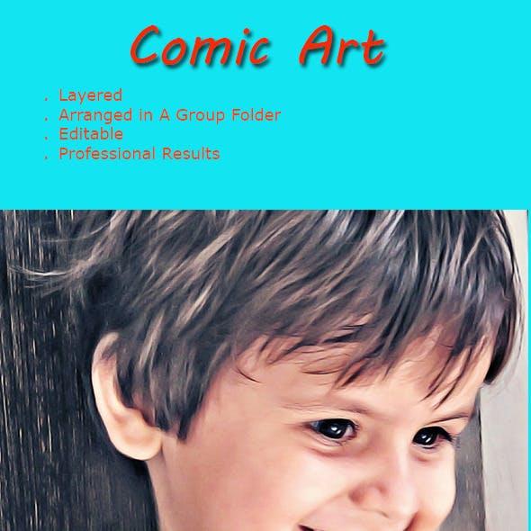 Comic Art - Professional Actions