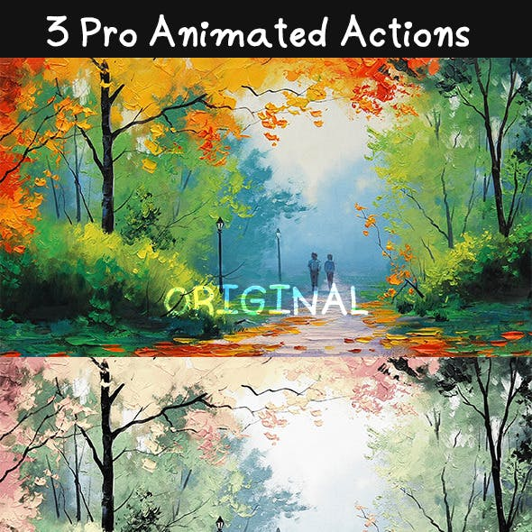 3 Pro Animated Actions