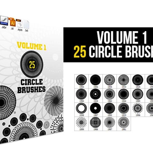 25 Circle Brushes