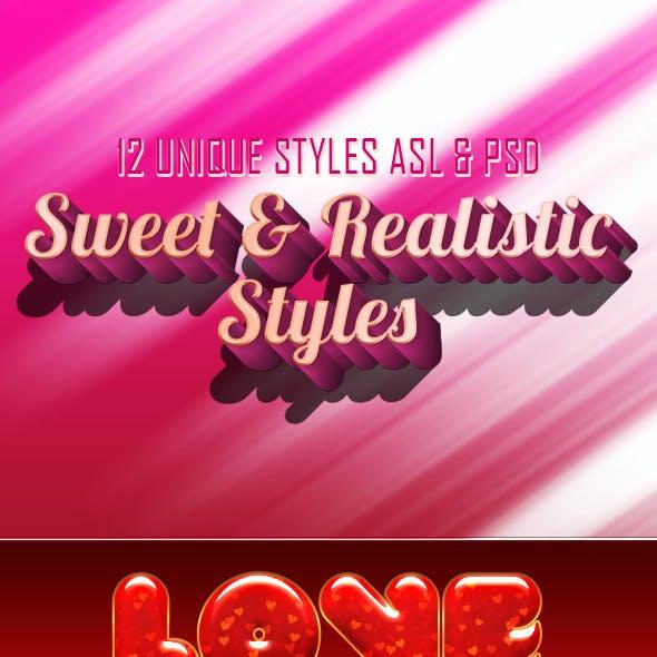 Sweet & Realistic Styles