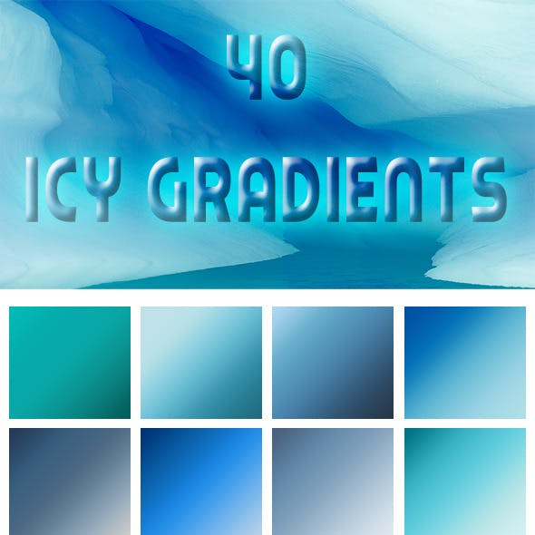 40 Icy Gradients