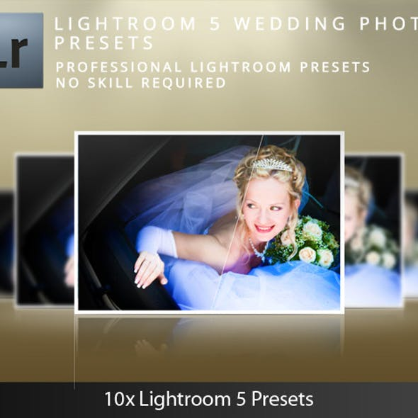 Lightroom 5 Wedding Presets