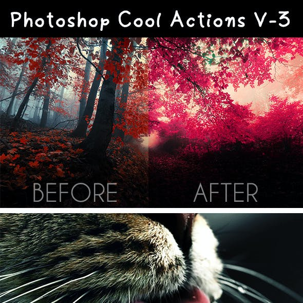 Photoshop Cool Actions V-3