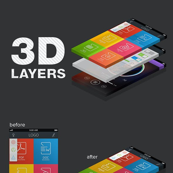 3D Layers