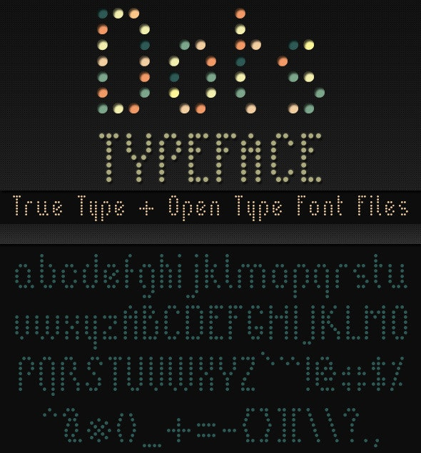 Dots - Stencil & Type Decorative