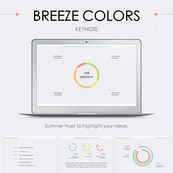 Breeze Colors Keynote Template