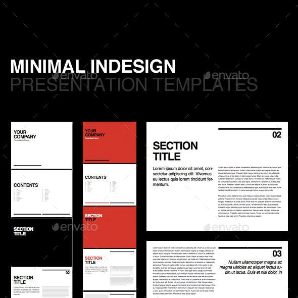 Indesign Presentation Stationery And Design Templates