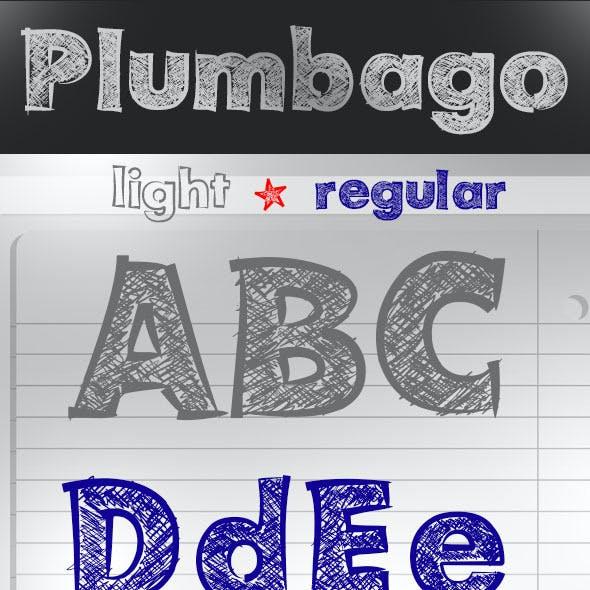 Plumbago Font