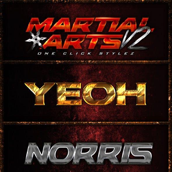 Martial Arts One Click Styles V2
