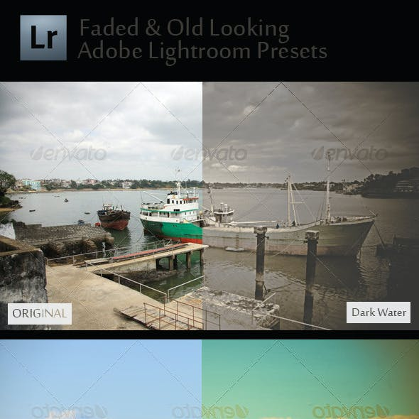 10 Faded & Old Looking Adobe Lightroom Presets