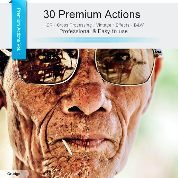 30 Premium Actions