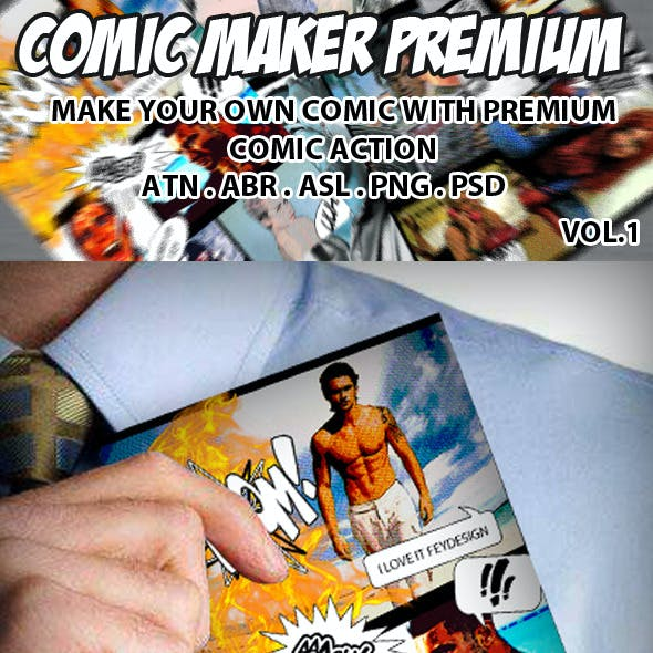 Comic Maker Premium Vol.1
