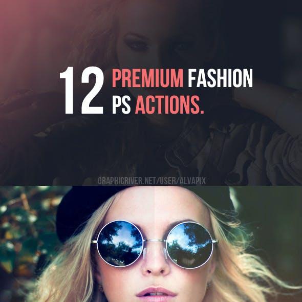 12 Fashion Premium Actions