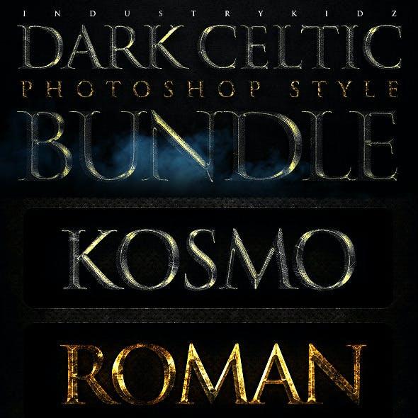 Dark Celtic Filmatic Styles Bundle