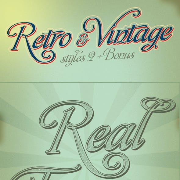 Retro And Vintage Styles 2