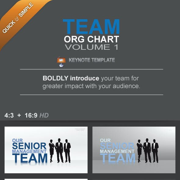 Team Org Chart Vol. 1