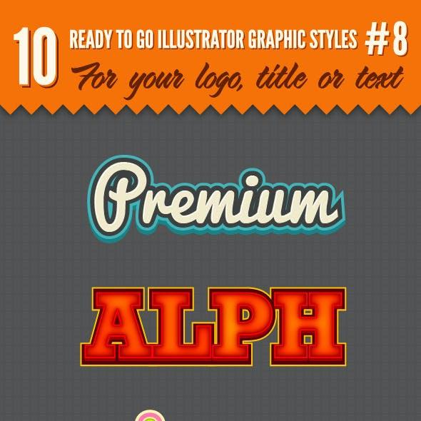 10 Logo Graphic Styles #8