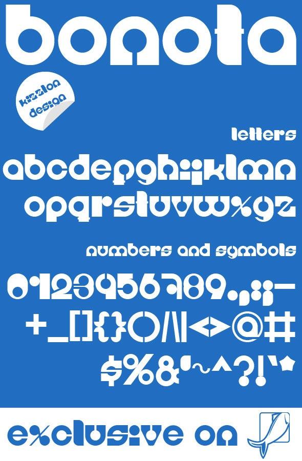 Bonota Premium Font - Fonts