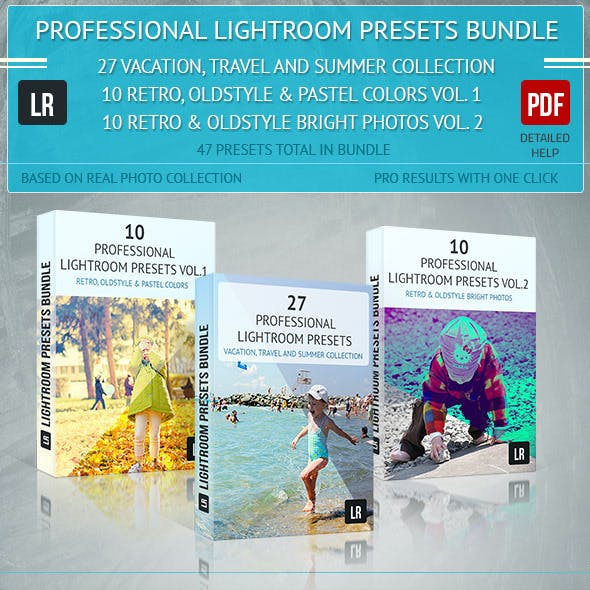 Lightroom 47 Presets Bundle