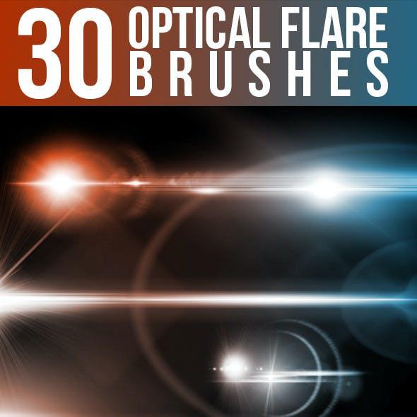 30 Optical Flare Brushes