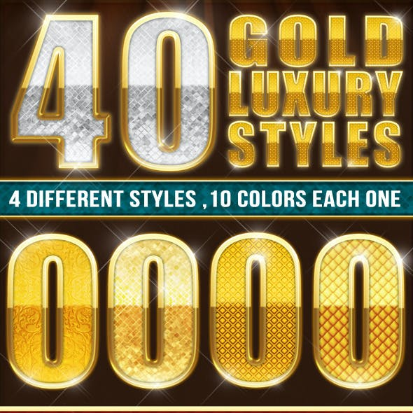 40 Elegant Gold Luxury Styles