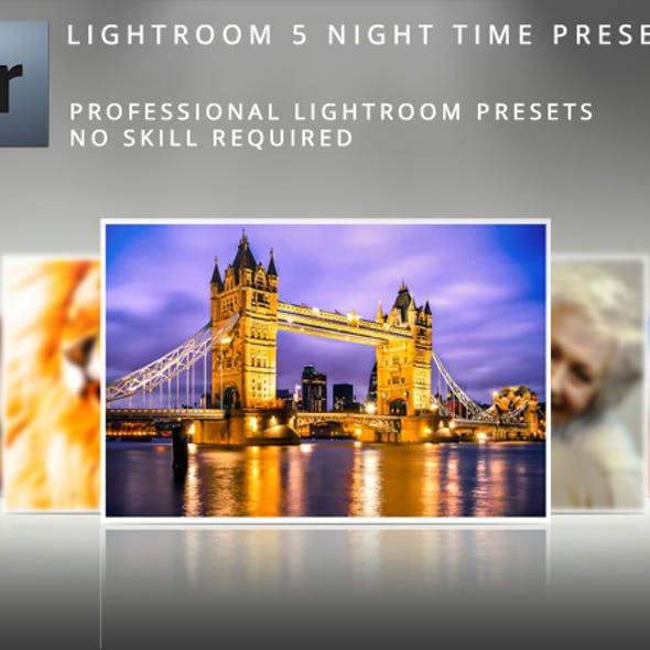 Night Time Lightroom Presets