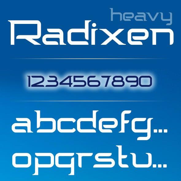 Radixen Font