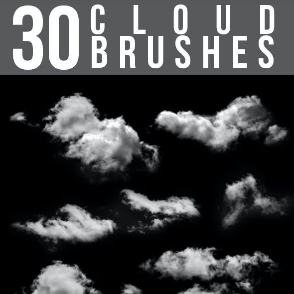 30 Cloud Brushes