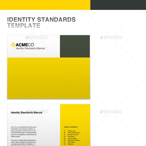 Identity Standards Guide Template
