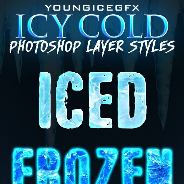 Icy Cold Photoshop Layer Styles